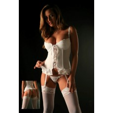 Adorable Bride Corset and G-String