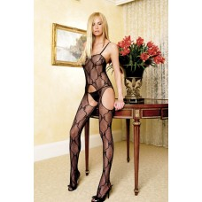 Bow Lace Bodystocking