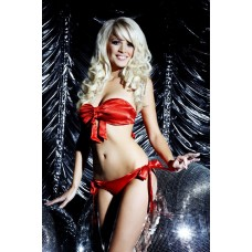 Unwrap Me Satin Tie Bra and Panties Set